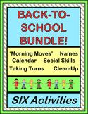 """""""Back to School Bundle!"""" -- Six Group Activities and Posters to Start Your Day!"""