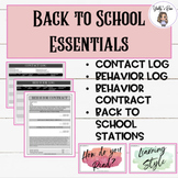 Back to School Bundle: Streamline Your Classroom!
