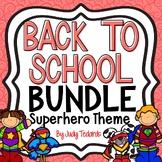 Back to School Bundle (Superhero Theme #2)