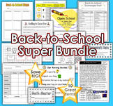 Back-to-School Bundle: Ten Great Products to Help You Star