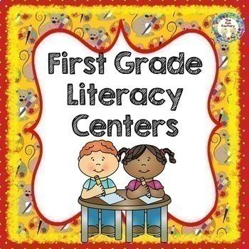 1st Grade Back to School BUNDLE | Language Arts & Math| Activities Centers Games