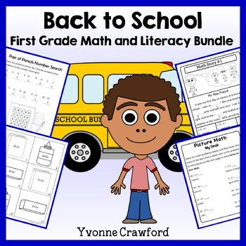 Back to School Bundle for 1st grade Endless