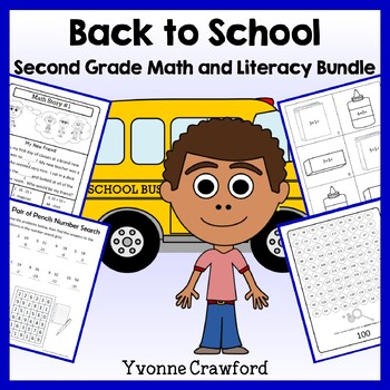 Back to School Bundle for 2nd grade Endless