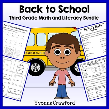 Back to School Bundle for 3rd grade Endless