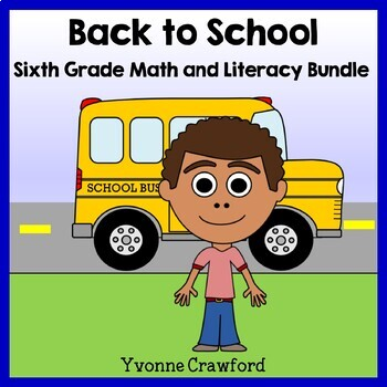 Back to School Bundle for 6th grade Endless