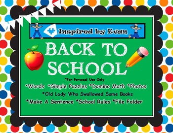 Back to School Bundle for Autism