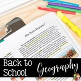 Back to School Bundle for GEOGRAPHY