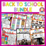 Back to School Bundle for K-1 for At Home Learning