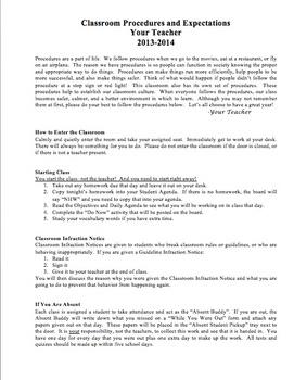 Back to School Bundle for Middle School & High School Teachers {Fully Editable!}