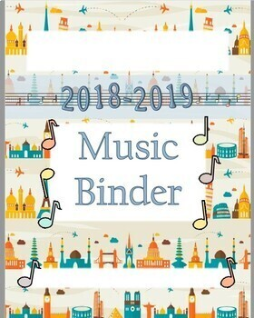 Back to School Bundle for Music Lessons - Travel Theme