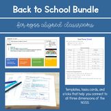 Back to School Bundle for NGSS Middle School Classrooms