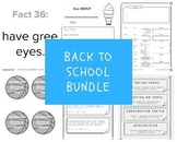 Back to School Bundle for Speech Therapy - 15 Products/Bundles!!