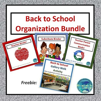 Back to School Sets for Teachers