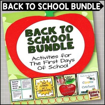 Back to School Bundle for Upper Grades