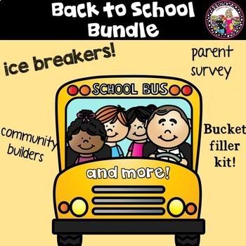 Back to School Bundle of Activities!