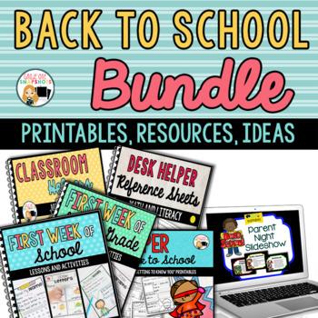 Back to School Bundle of Essentials