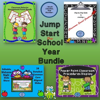 Back to School Bundle to Organize, Structure, & Manage