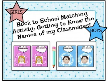 Back to School Bundle with Transition, Calendar, Name Tags and More