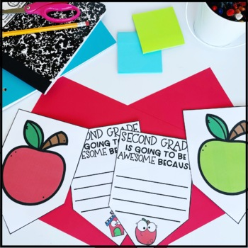 Back to School Bunting Banner | Writing Activity