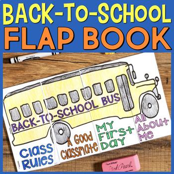 Back-to-School Bus Beginning of the School Year Craftivity