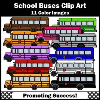 School Bus Clipart SPS