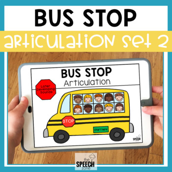 School Bus No Print Articulation Activity Later Sounds