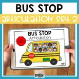 School Bus No Print Articulation Activity Later Sounds