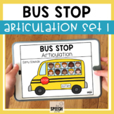 School Bus No Print Articulation Activity Early Sounds