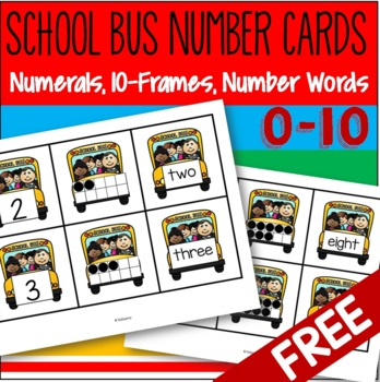 Back to School Numbers FREE