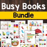 Busy Binder and Busy Book Activity Bundle for Preschool an