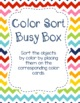 Back to School Busy Boxes (Exploration Boxes)