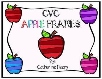 Back to School CVC Apples