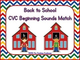 Back to School CVC Beginning Sounds Activity