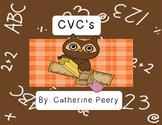 Back to School CVC Owls