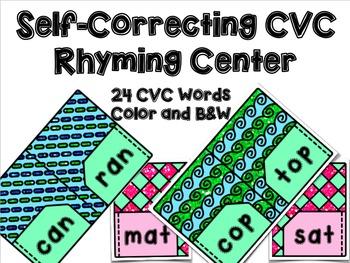 CVC Rhyming Center
