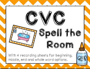 Back to School CVC Spell the Room