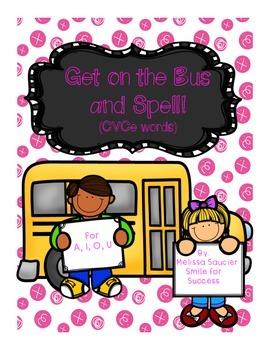 Back to School CVCe Spelling!