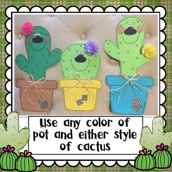 Back to School: Cactus Craft