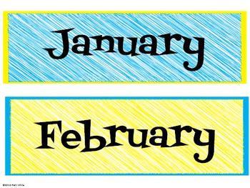 Back-to-School Calendar Freebie
