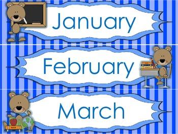 Back to School Calendar Time