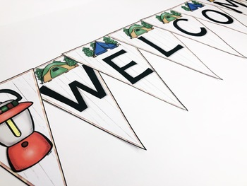 Back to School Camping Classroom Banners