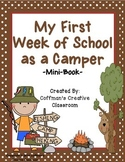 Back to School Camping Mini-Book