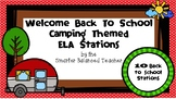 Back to School Camping-Themed ELA Stations