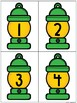 Back to School Camping Themed Student Number Labels
