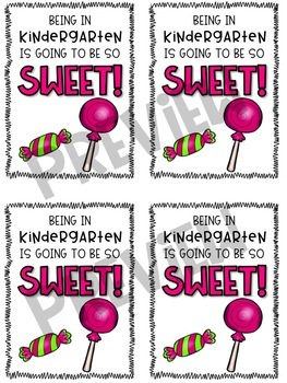 Back to School Candy Gift Tag