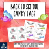 Back to School Candy Treat Tags