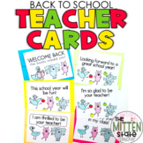 Back to School Cards: Elephant and Piggie Inspired!