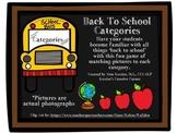 Back to School Categories