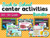 Writing, Grammar, and Vocabulary Center Activities