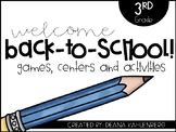 Back-to-School Centers {3rd Grade}